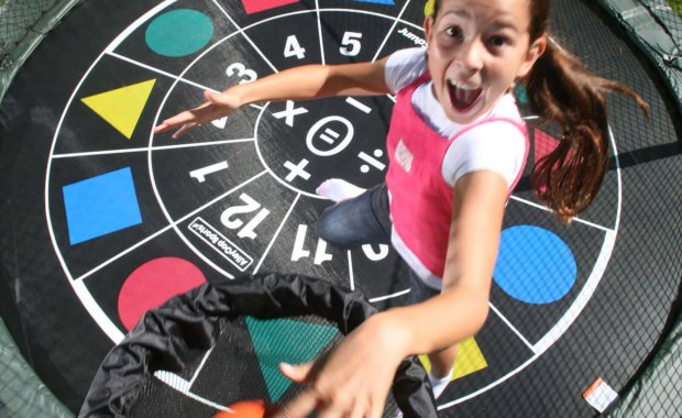 Trampoline Game Mat