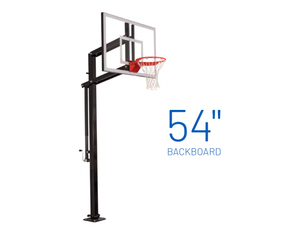 Basketball Hoop Adjustable In Ground Extreme 454
