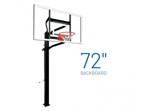 Basketball Hoop Adjustable In Ground Extreme 672