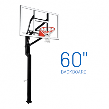 Basketball Hoop Adjustable In Ground Signature All American