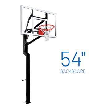 Basketball Hoop Adjustable In Ground Signature All Star