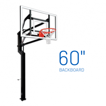 Basketball Hoop Adjustable In Ground Signature Captain