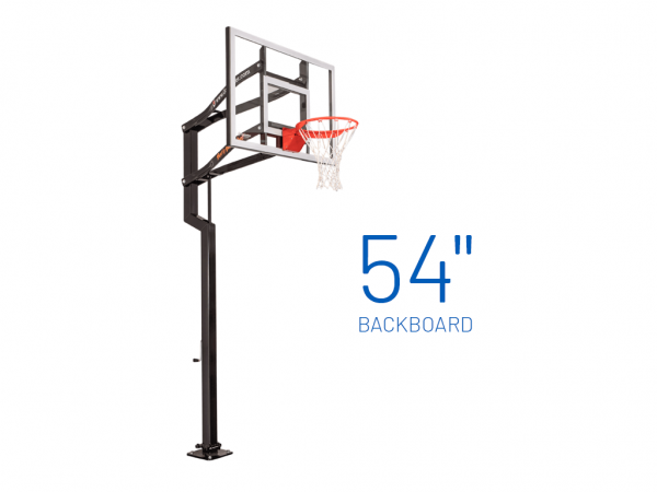 Basketball Hoop Adjustable In Ground Signature Contender