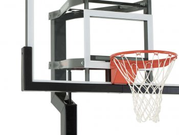 Basketball Hoop Backboard Edge Pad Black