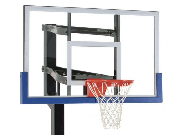 Basketball Hoop Backboard Edge Pad Blue
