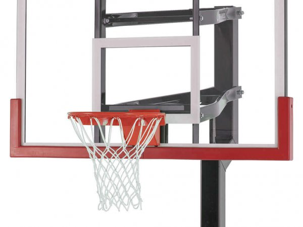 Basketball Hoop Backboard Edge Pad Red