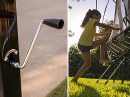 Basketball Hoop and Trampoline Accessories