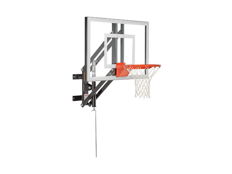 GS-48 Wall Mount Adjustable Basketball Hoop