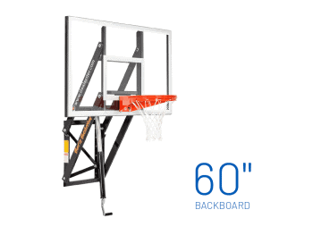 Basketball Hoop Wall Mount Adjustable Gs60
