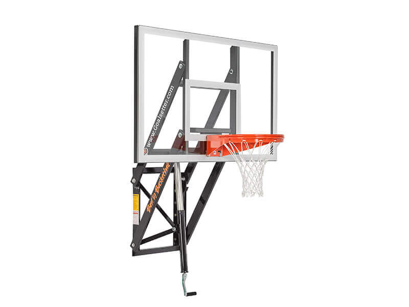 GS-60 Wall Mount Adjustable Basketball Hoop