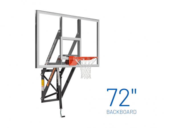 Basketball Hoop Wall Mount Adjustable Gs72