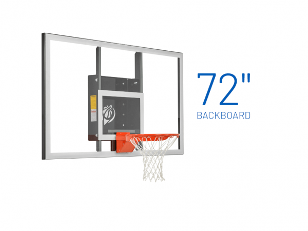 Basketball Hoop Wall Mount Baseline Gs72