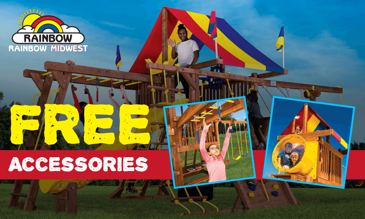 Free Accessories with Swingset Purchase