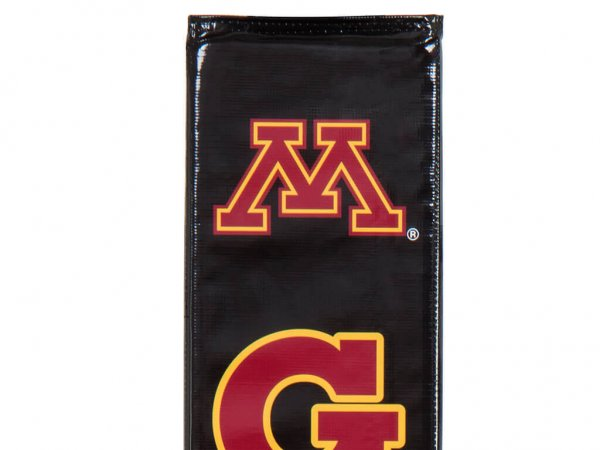 Goalsetter Collegiate Pole Pad Gophers Black Detail