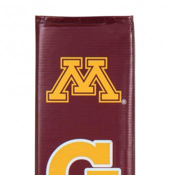 Goalsetter Collegiate Pole Pad Gophers Maroon Detail