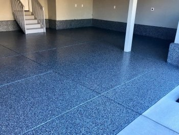 Granite Epoxy Garage Floor