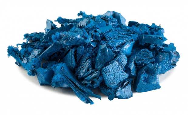 Rubber Mulch Blue