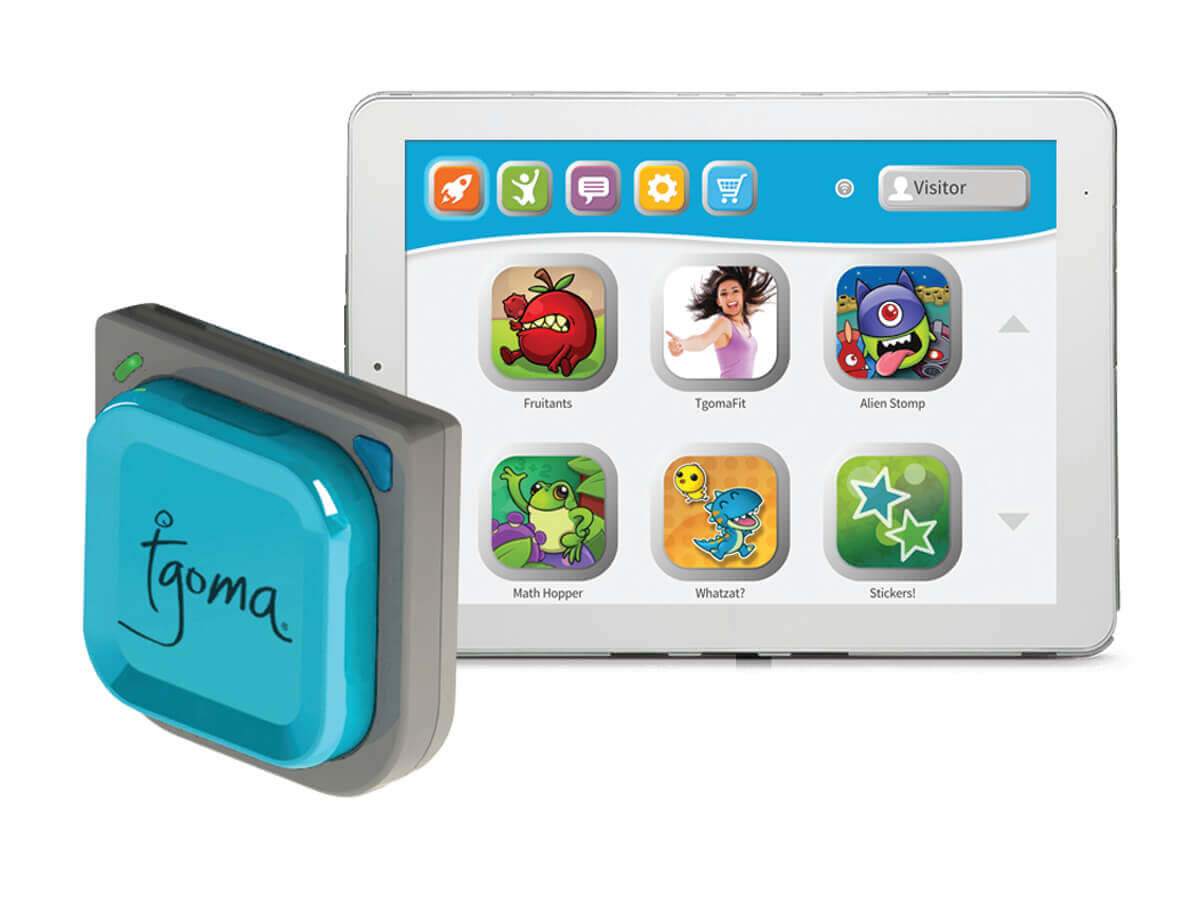Springfree Trampoline Tgoma Game Controller Tablet
