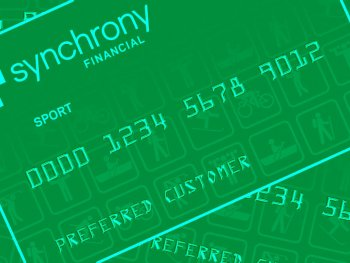 Synchrony Financial Sport Card Banner