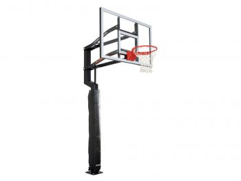 Wrap Around Basketball Hoop Pole Pad Black